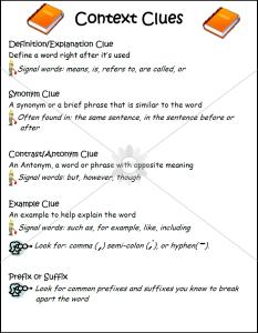Context Clues Poster_1
