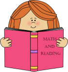 Girl with Book_Math & Reading
